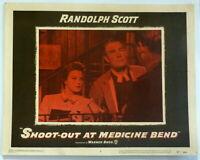 Western Randolph Scott LOT 2 Original 1950s Lobby Cards Angie Dickinson