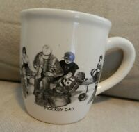 Bernie Brown Collection Pencil Art Mug Cup, Hockey Dad