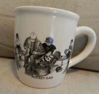 Bernie Brown Collection Pencil Art Mug Cup, Hockey Dad