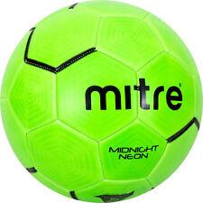 Mitre Midnight Neon Green Performance Soccerball, Size 5