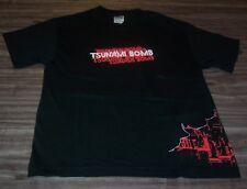 TSUNAMI BOMB PUNK BAND T-Shirt YOUTH LARGE NEW