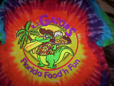 R J Gator's Tie Dye T- shirt, Charlotte, N.C. Super Nice! X Large!