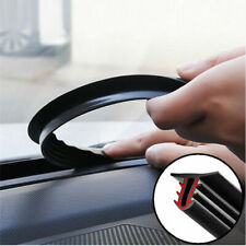 1.6m Car Push Seal Strip Rubber Dashboard Windshield Gap Engine Noise Insulation