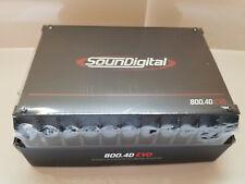 Soundigital 800.4d EVO Series 800w 4-channel AMPLIFIER 2-OHM 800.4 FREE SHIPPING