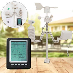 Weather Station Wifi Wireless Professional Outdoor Machine Temperature Humidity