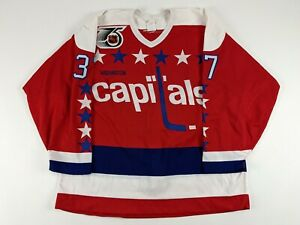 WASHINGTON CAPITALS 1991-92 Season Hockey Jersey GAME ISSUED NHL #37