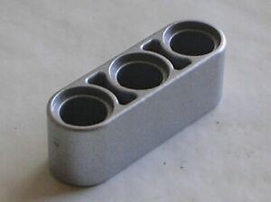 LEGO Technic MetallicSilver Beam 3 ref 32523 / set 10262 10242 42048