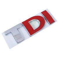 TDI Badge Sticker Emblem For GOLF PLUS POLO LUPO PASSAT EOS MK4 MK5 MK6 7 S81