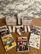 Nintendo Wii Console Bundle 4 Controllers 23 Games Tested