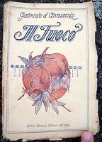 30) 1923 GABRIELE D'ANNUNZIO 'IL FUOCO' EDIZIONE BARION DI MILANO