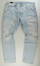 G-STAR RAW W36 L30, Elwood 5620 3D Tapered Jeans, Jeanshose Bleached