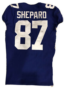 STERLING SHEPARD GAME WORN JERSEY New York Giants VERY UNIQUE Game Used NFL 2019