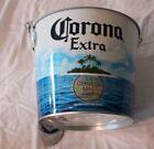 Corona Metal Ice Bucket W/Built In Bottle Opener, T-shirt and Flip Flop Opener