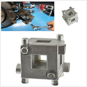 "Disc Brake Rear Caliper Piston Cube 3/8"" Wind Back Rewind Car Caliper Brake Tool"