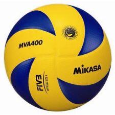 Mikasa MVA 400 Ballon de volley-ball Blue x Yellow Size 4 Go from Japan new.
