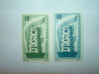 1956 WEST GERMANY EUROPA SET MNH (sg1167-8) CV £13