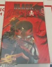 DF Black Terror #1 Limited Series Signed by Alex Ross COA