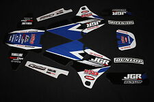 YAMAHA YZF 250-400-426  1998-2002 JGR MX GRAPHICS DECALS KIT STICKERS