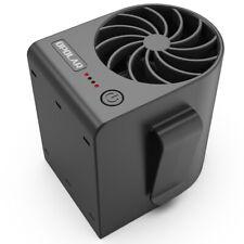 Clip Belt Waist Fan 2500mAh Battery/USB  3-Speeds Strong Airflow Portable Fan