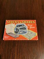 Vintage Stocks & Shares Card Game, Pepys Series 1960s - financial board game