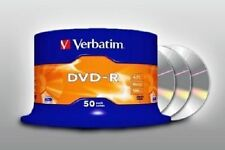 200 DVD -R VERBATIM VERGINI VUOTI 16X Advanced Azo dvdr 4.7 GB f02