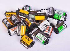 Lot 50 EMPTY 35mm FILM ROLLS Canisters Assorted Kodak Fuji Ilford & others
