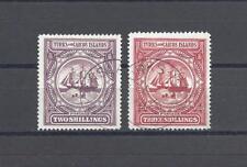 TURKS & CAICOS ISLANDS 1900-04 USED Cat £190