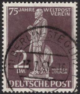 1949 BERLIN Stephan 2 Mark gest. mit deutlichem Plattenfehler 41 I Mi. 400,-