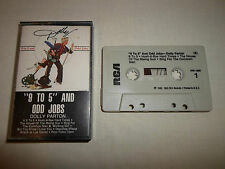 Tested ! Dolly Parton 9 to 5 and Odd Jobs Cassette Tape Movie Sound Tracks Songs