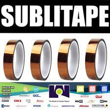 Heat Press Tape Dye Sublimation For Mugs 3d Printer 20mmx33m 100ft 4 Rolls