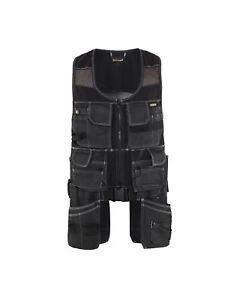 Blaklader waistcoat X1900 Cotton Twill + Mesh toolvest Black - 3119