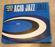 Acid Jazz The Original Selection 4 CD Set in case w/ book