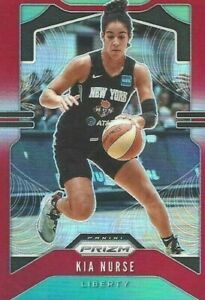 2020 WNBA PANINI * KIA NURSE RED PRIZM * PARALLEL CARD 164/275 NY LIBERTY UCONN