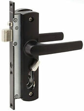Whitco W892117 Security Screen Door Lock Tasman MK2 Black No Cylinder