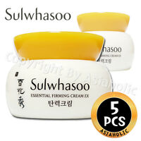 Sulwhasoo Essential Firming Cream EX 5ml x 5pcs (25ml) Sample AMORE PACIFIC