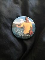 Cast Away Tom Hanks Pin Back Movie Promotional Video Store Button June 12, 2001