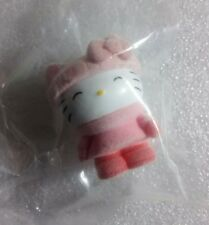 Hello Kitty Mini Figure Sanrio Italy Pink Suede Coat Panini Sticker Collection