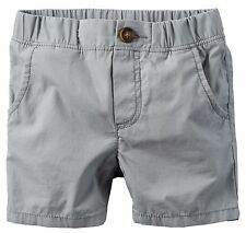 Carter's Boys' Grey Flat Front Shorts (Size 6) MSRP: $20.00
