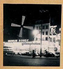 PARIS c. 1950-60 - Cabaret MOULIN ROUGE Music-Hall - 14