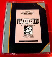 Mary Shelley Frankenstein 2-Tape Audio Book Patricia Hodge Monster/Horror