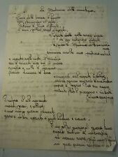 STORIA / POESIA SCRITTA DA SCOLARA DI PIETRA LIGURE LUGLIO 1940 -  C7-409