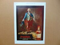 1954 DRAMBUIE Prince Charles Edwards LIQUEUR vintage art print ad