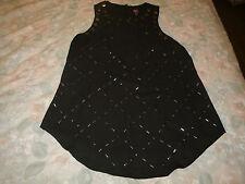 2B bebe ladies black dress top size XS