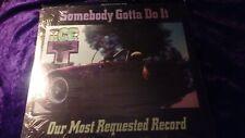 "ICE-T Somebody Gotta Do It 12""  1987 vinyl record album single rap hip hop"