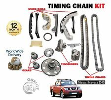 Per Nissan Navara D40 2.5 TD YD25DDTI 2006-2010 Nuovo CAM TIMING CHAIN KIT SET