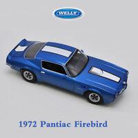 WELLY 1:18 Scale 1972 Pontiac Firebird Trans AM DIECAST DIE-CAST MODEL TOY CAR