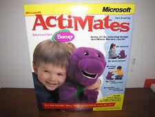 Microsoft ActiMates Interactive Barney 1997 Nib - Hard to Find