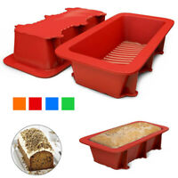 Non-Stick Cake Bread Mold Bakeware Large Toast Loaf Pan Mold Silicone Cake Pan