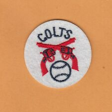 RARE ORIGINAL 1962 OLD LOGO HOUSTON COLT 45s COLTS 2 inch PATCH Unsold Stock