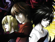 """013 Death Note - Japanese Animation Cartoon Anime 18""""x14"""" Poster"""